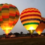 Hot Air Ballooning at dawn