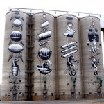 Northam grain silos